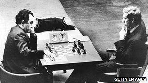 Tigran Petrosian takes on Fischer