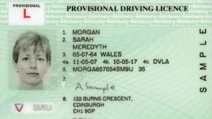 New NI driving licence