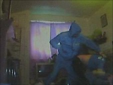 CCTV images of attack