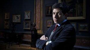 Lecturer Dr James Fox presents British Masters