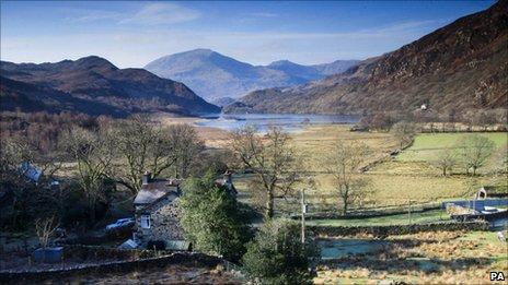 Llyndy Isaf in Snowdonia