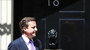 David Cameron, file pic