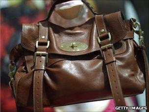 Mulberry handbag, Getty