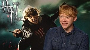 Harry Potter star Rupert Grint a.k.a. Ron Weasley