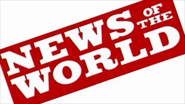 News of the World masthead