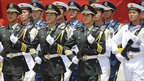 Chinese military personnel take part in Venezuela's independence day parade, Caracas - 5 July 2011