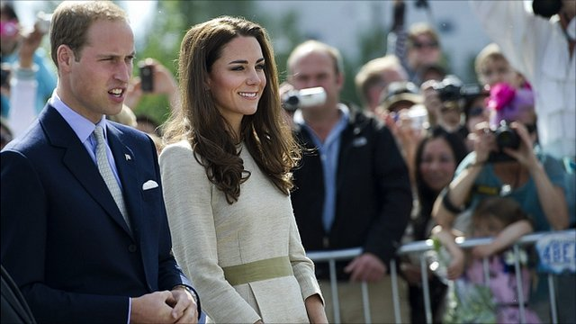 The Duke and Duchess of Cambridge have continued their tour of Canada with a visit to one of the country's most remote regions.