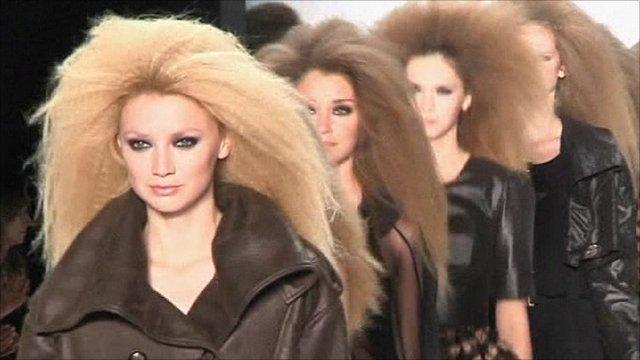 Fashion week models