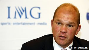 Guy Kinnings, managing director of IMG Golf