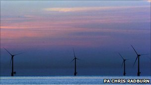 Offshore wind farm, Caister, Norfolk