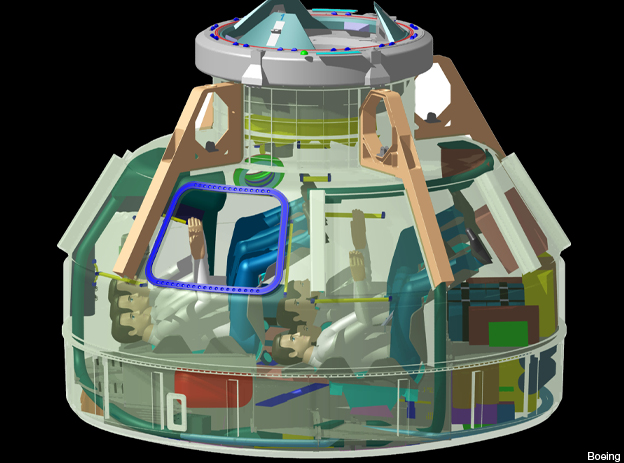 CST-100 crew capsule