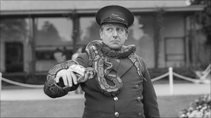 Johnny Morris in Animal Magic