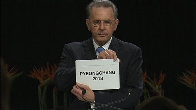 Pyeongchang to host 2018 Winter Olympics