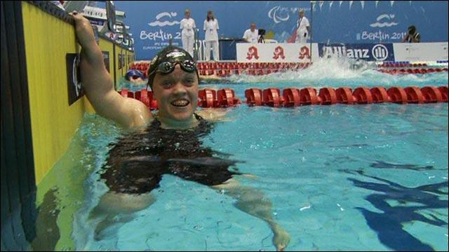 Double Paralympic champion Eleanor Simmonds