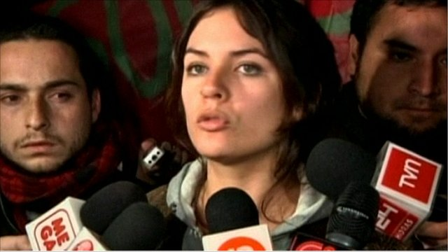 Camila Vallejo, President of Chile's Student Federation