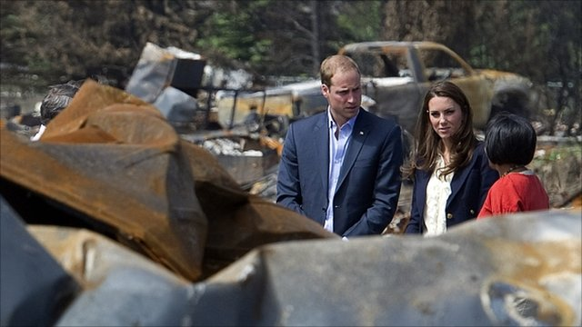 The Duke and Duchess of Cambridge are continuing their tour of North America. The Canadian leg of the trip is drawing to a close.