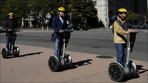 Segway balancing vehicles