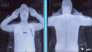 Airport body scanner (file)
