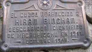 Plaque to Bingham