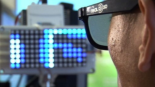 A pair of glasses that can help blind people 'see' things has been developed by British scientists.