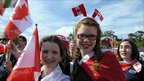 Members of a Canadian choir at the Llangollen International Musical Eisteddfod (picture: Barrie Neil Photography)