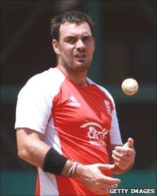 Sussex captain Michael Yardy