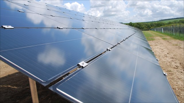 First solar park due to power up