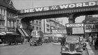 A advertisement for the News of the World in Brixton in 1938