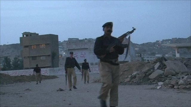 Pakistani policemen