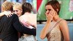 Rupert Grint, JK Rowling and Emma Watson
