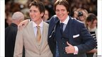 Actors James Phelps and Oliver Phelps