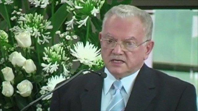Former Guatemalan Vice-President Eduardo Stein