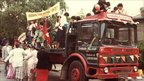 Indian Education Society took part in the Belgrave Carnival parade (Belgrave Carnival 1982-1985)