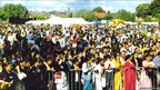 Belgrave Mela when it was held at Cossington Park in the 1980s (Leicester Belgrave Mela at Cossington Park 1986-1999)