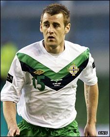 Northern Ireland winger Niall McGinn