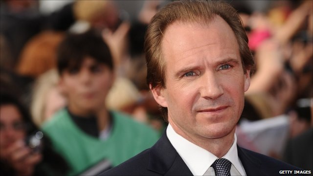 Ralph Fiennes at the Harry Potter premiere