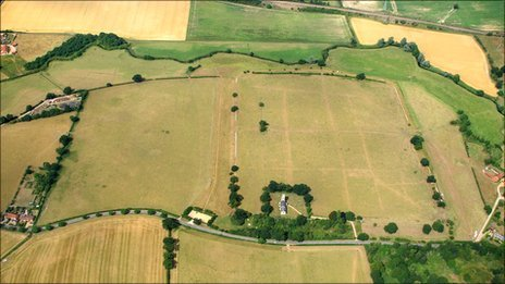 Caistor St Edmund Roman site, Norfolk (Photo: Mike Page)
