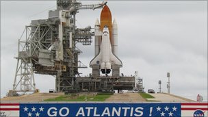 Atlantis shuttle. Photo: Lofty Ambitions
