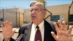 Maricopa County, Arizona Sheriff Joe Arpaio, in a 2010 file photo