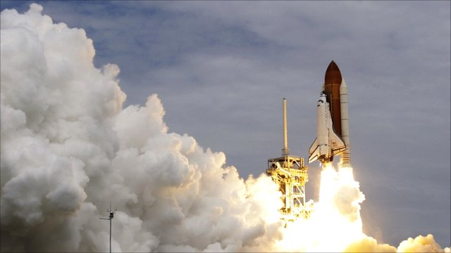 Atlantis lifts off on her final mission