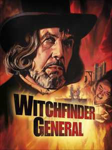 Poster art for Witchfinder General. Courtesy of Graham Humphreys