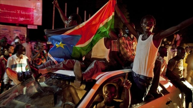 Celebrations in South Sudan