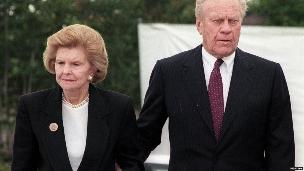 BBC News - Life in pictures: Betty Ford
