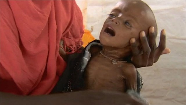 Child in Dadaab refugee camp