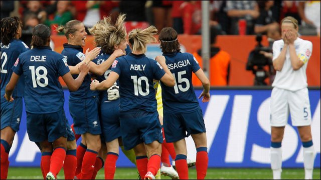 Highlights - England 1-1 France (3-4 on pens)