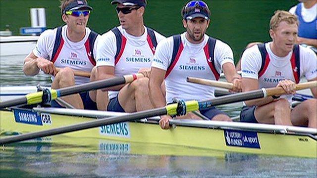 British men's four