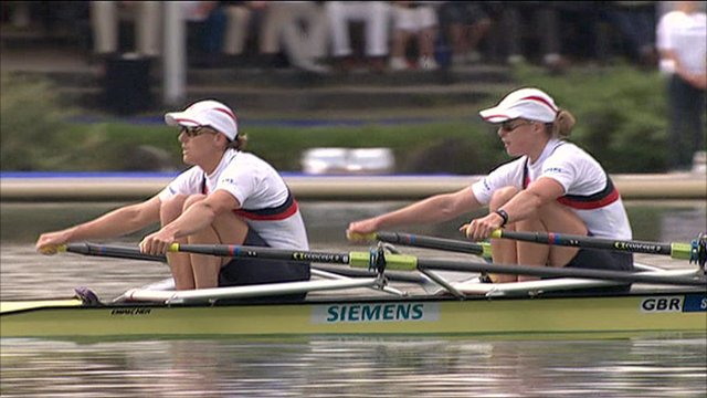 Britain's women's double