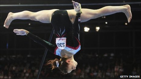 Hannah Whelan competing in Berlin