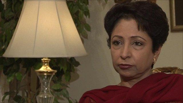 Pakistan's former ambassador to the US, Maleeha Lodhi