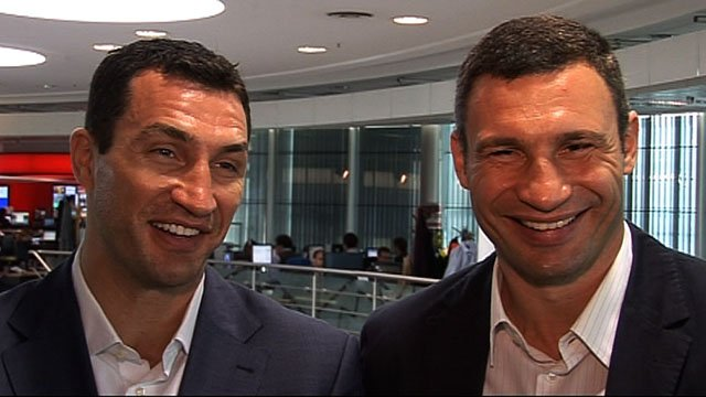 Wladimir & Vitali Klitschko